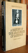 1978 History of the Arab State of ZANZIBAR Bennett First Edition in Dust Jacket