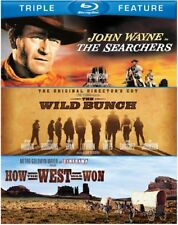 The Searchers / The Wild Bunch / How the West Was Won [New Blu-ray] 3 Pack
