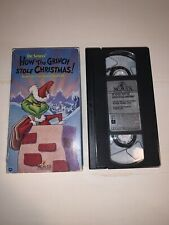 How the Grinch Stole Christmas (Vhs, 1966