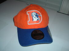 NWT NEW ERA DENVER BRONCOS ORANGE CRUSH BLUE RETRO LOGO DAD CAP STRAPBACK NFL