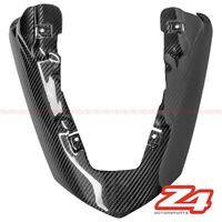 2007 2008 ZX-6R Rear Seat Upper Tail Exhaust Shield Fairing Cowling Carbon Fiber