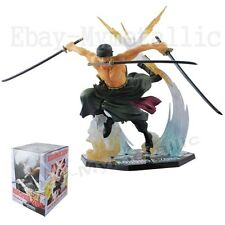 """One Piece Battle Ver. RORONOA. ZORO 6.8"""" / 17cm PVC Figure New In Box"""