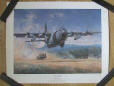 "/""Pillar of Hercules/"" Dru Blair Signed Limited Edition Print C-130 Hercules"