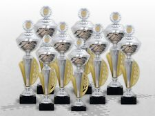9er Pokalserie Pokale ATHEN mit Gravur PREMIUM DELUXE POKALE TOP DESGIN & PREIS