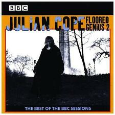 Julian Cope Floored Genius 2 CD *SEALED* Best Of BBC Sessions Teardrop Explodes