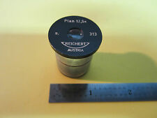 MICROSCOPE PART REICHERT AUSTRIA EYEPIECE 12.5X PLAN  OPTICS BIN#A2-10
