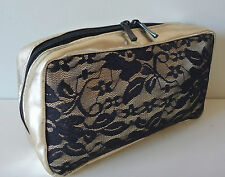 1x HELENA RUBINSTEIN HR Gold Makeup Cosmetics Bag, Brand NEW!! 100% Geniune!!