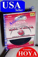 Genuine OEM Hoya 62mm UV (0) Super Slim Multi-Coated Lens Protector Filter Japan