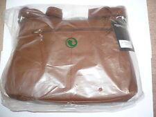 Walbusch Marken Handtasche Lady Bag Rindleder Gr. 10, Farbe cognac, neu OVP