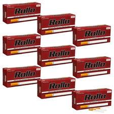 Pack Lot de 12 boites de 200 tubes à cigarette Rollo Red Ultra Slim