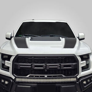 Hood Race Stripe kit for 2017 2018 2019 Ford Raptor F-150 Graphics Decals GREY
