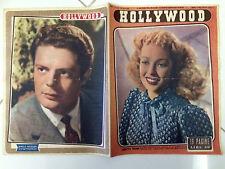 Rivista Cinema Hollywood 1950  n° 240 Loretta Young,Marcello Mastroianni   23/6