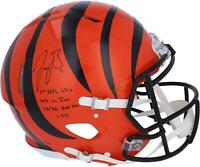 Autographed Joe Burrow Bengals Helmet Fanatics Authentic COA Item#10921967