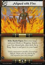 Aligned with Fire L5R CCG Evil Portents EP