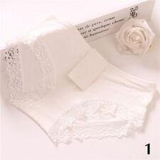 Sexy Women Lace Lingerie Soft Silk Satin Underwear G-string Briefs Panties