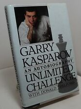 Unlimited Challenge by Garry Kasparov with Donald Trelford - an autobiography