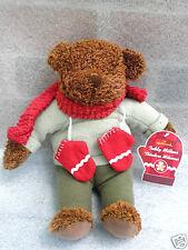 Hallmark Teddy Bear Plush named Mittens 13in Fleece Suit Hang Tag