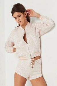Spell & The Gypsy Collective Anastasia Brocade Bomber Pearl Size S NWT