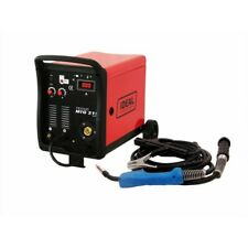 MIG Welder Inverter Gas / Gasless 200amp MMA Ideal TECNOMIG 215 Digital