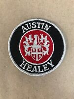 "Vtg Austin Healey Embroidered Sew On Patch 3"" British Auto Racing Badge BMC MG"