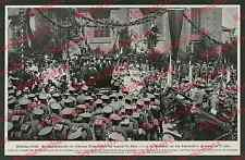 Flensburg Südermarkt Dr. Köster Volksabstimmung Reichswehr Reiter Fahnen 1921!!