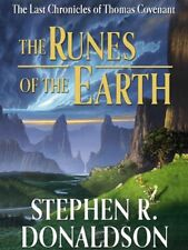 STEPHEN R. DONALDSON THE RUNES OF THE EARTH BOOK 1 HARDCOVER BOOK CLUB ED OOP