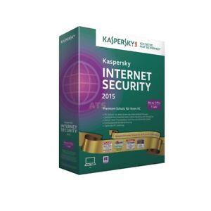 Kaspersky Internet Security 5 PC DVD BOX 1 Jahr GoldEdt. 2015 +Update 2016/2017