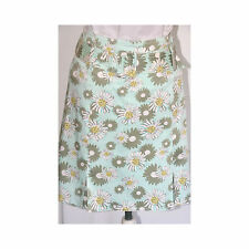 WORTH FLORAL PRINT BELTED MINI SKIRT (Size 8)