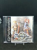 Threads Of Fate for Sony Playstation PS1 & PS2 CIB w/ Manual, great condition