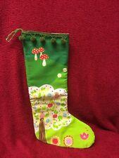 Nikolausbeutel Weihnachtsstiefel Stoff -Sack Nikolaussack, handmade