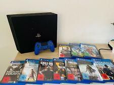 Sony PlayStation 4 Pro 1TB Jet Schwarz Spielekonsole inkl. 10 Top Games