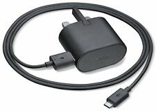 Genuine Nokia AC-60X 1.5A USB Main Fast Charger + Cable  520 620 630 930 Black