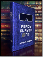 Ready Player One by Ernest Cline New Custom Leather Bound Deluxe Gift Hardcover