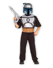 """Jango Fett Kids Star Wars Costume Kit, Std, Age 5 - 7, HEIGHT 4' 2"""" - 4' 6"""""""