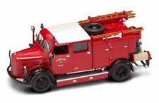 1950 Mercedes Benz TLF50 Schorndorf Fire Engine Yatming 43013 1/43 Diecast Truck