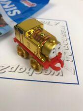 Thomas the Train Minis ~ 2015  Metallic Golden Thomas #61 Sealed in Blind Pack