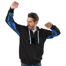 Carolina PANTHERS Hoodie NFL Full Zip Vintage Logo Jacket ~ SMALL