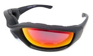 Vortex G-Tech Motorcycle Sunglasses/Wraparound Biker Glasses INC Pouch & Postage