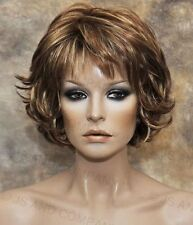 Wonderful EveryDay Short N Sassy wig full bangs Red Blonde Mx NLLx RS29