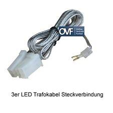 Paulmann LED Trafokabel 12V Kabelverbindung 3er Kabelbaum Steckverbindung Kabel
