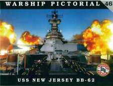 NEW ! USS New Jersey BB-62, Iowa Class Battleship (Warship Pictorial 46)