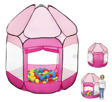 Knorrtoys Spielzelt Bällebad mit 250 Bällen (Pink)