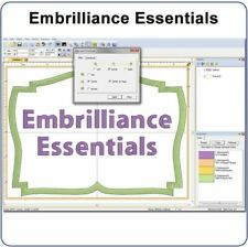 Embrilliance Essentials Software & Embroidery Machine Supplies For Windows
