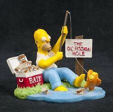 Simpsons Misadventures Homer Gone Fission Fish Hamilton Collection Sculpture