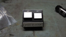 Craig 5101 Speed Selector Button and Arm