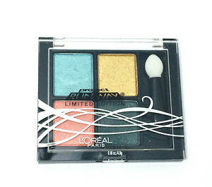 L'Oreal Project Runway Limited Edition Pressed Eyeshadow Quad 716 -NEW -SEALED**