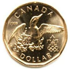 Canada 1 dollar 2008 Olympic Loon UNC (#739)