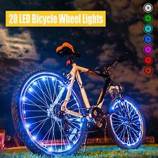 New LED Bike Wheel Lights 7 Colors in 1 Auto Open&Close Wheel Spoke Light String