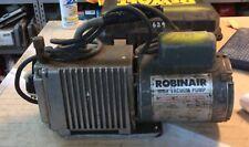 Robinair High Vacuum Pump- Model 15101-B, 5CFM, Used in Good Working Condition