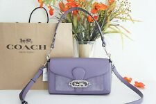 NWT Coach 91027 Small Jade Leather Crossbody Shoulder Bag Dusty Lavender $398